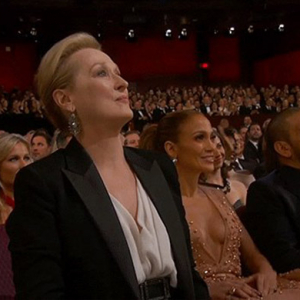 Patricia Arquette gets Meryl Streep and Jennifer Lopez cheering with Oscars 2015 acceptance speech
