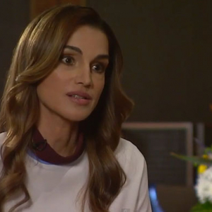 Watch now: Jordan's Queen Rania talks about the refugee crisis