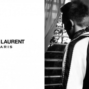 First look: Saint Laurent menswear Spring/Summer 14