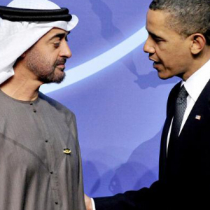 The Crown Prince of Abu Dhabi meets Obama
