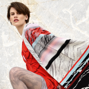 Saskia De Brauw stars in Missoni's Autumn/Winter 15 campaign