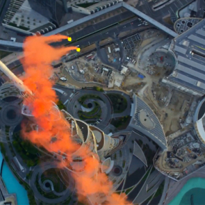 A record breaking base jump from the Burj Khalifa by Skydive Dubai