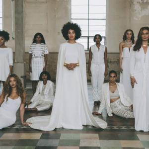 Solange Knowles marries Alan Ferguson wearing Kenzo