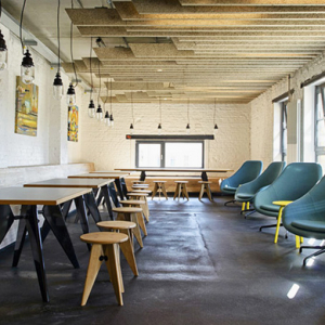SoundCloud's transformed brewery headquarters in Berlin