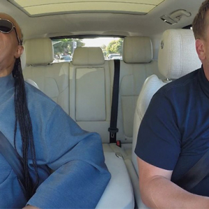 Wonder drive: Stevie Wonder brings a whole-lotta' soul to James Corden's commute