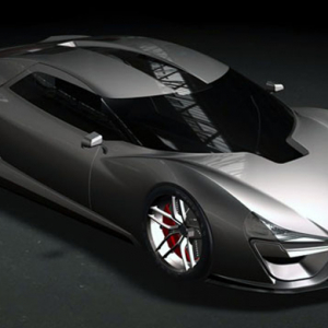 The Trion Nemesis aims to break the 'Sports Car Land Speed' record