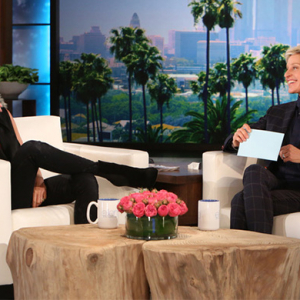 Watch now: Ellen DeGeneres challenges Victoria Beckham to name her husband's tattoos