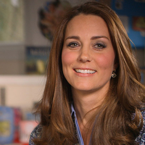 The Duchess of Cambridge supports the UK's first Children's Mental Health Week