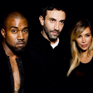 """They represent the society of today\"" – Riccardo Tisci on 'Kimye'"