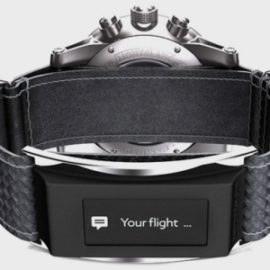 Montblanc unveils the smart Timewalker Urban Speed e-Strap