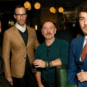 Tommy Hilfiger hosts dinner with Dylan Jones at London Collections: Men