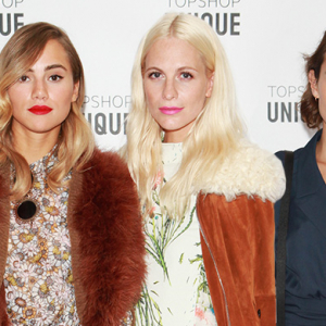 London Fashion Week: The guests at the Topshop Unique SS16 show