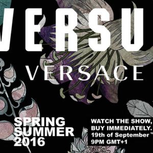 Watch live: See the Versus Spring/Summer 16 show live-stream from LFW here