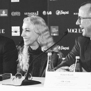 Vogue Italia's editor-in-chief Franca Sozzani opens the Vogue Fashion Dubai Experience 2014