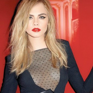 First look: Cara Delevingne for YSL beauty