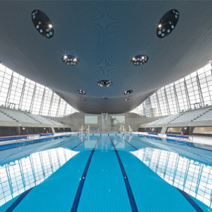 Zaha Hadid's London Aquatics Centre opens to the public