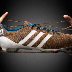 Adidas release the world's first knitted football boots