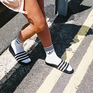 The Adidas Originals campaign for #Socksnslides