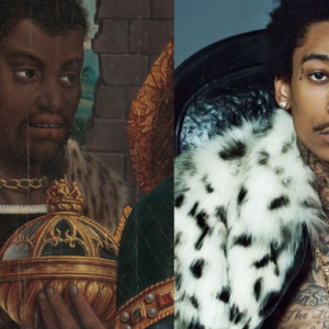 Icon rappers compared to pre-16th century artworks