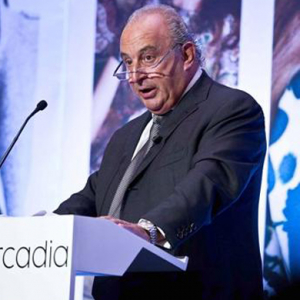 Sir Philip Green takes Arcadia to India for first time