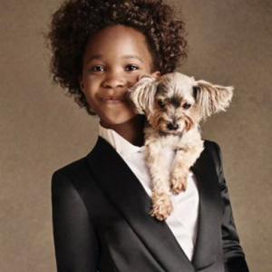 First look: Quvenzhané Wallis for Armani Junior