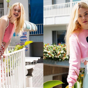 Elle Fanning stars in 'ASOS Magazine' shoot