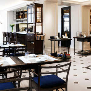 Burberry unveil new eatery: Thomas's in Regent Street, London