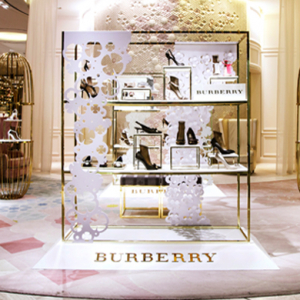Burberry announces partnership with Level Shoe District