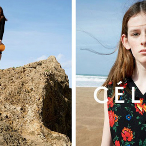 Céline debut its Spring/Summer 15 campaign in full