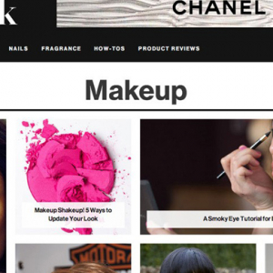 Glamour creates digital beauty site Lipstick.com