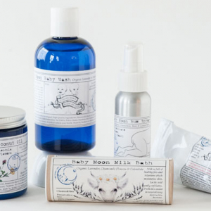A new 100% organic luxury skincare range for babies