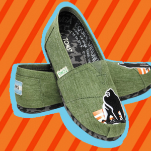 Toms launch new animal friendly shoes