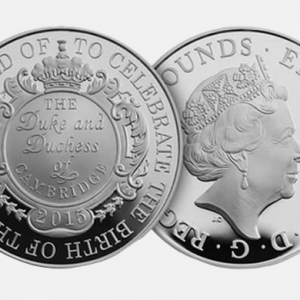Princess Charlotte is honoured with commemorate Royal Mint coin