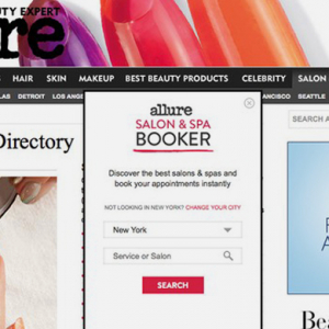Allure.com to allow beauty salon appointments in America