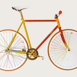 Cinelli and artist Jean-Luc Moerman create a collection of bikes