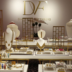 Diane von Furstenberg launches costume jewellery