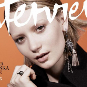 Mia Wasikowska for Interview magazine