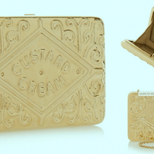 Object of desire: Custard Cream clutch by Anya Hindmarch