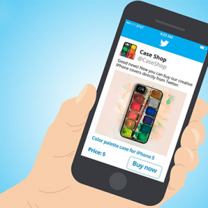 Twitter begins testing out its 'buy' button