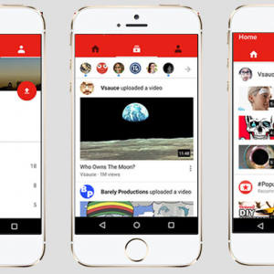 YouTube redesigns app to allow for vertical videos
