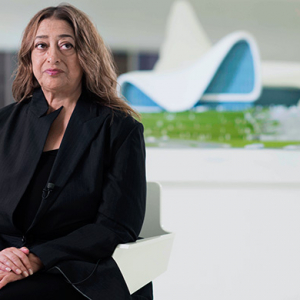 Zaha Hadid joins Buro 24/7 to celebrate our Azerbaijan launch