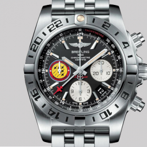 The special-edition Breitling Chronomat 44 GMT