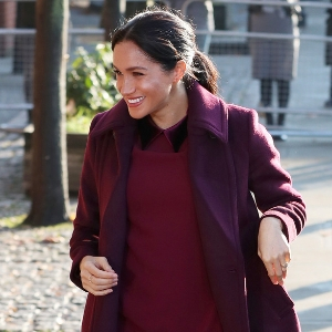 Burgundy is officially the colour of the season, according to the Duchesses