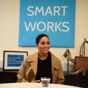 The Duchess of Sussex makes her first official visit as Patron to Smart Works