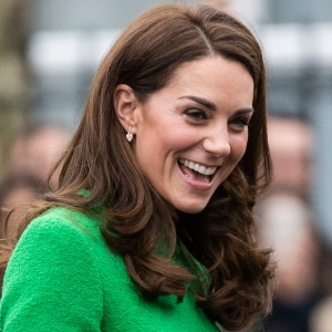 The Duchess of Cambridge is doing a round of visits for a very worthy cause right now