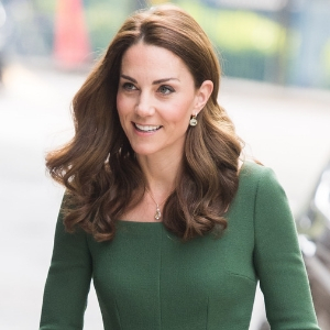 Kate Middleton makes a simple green dress look anything but simple