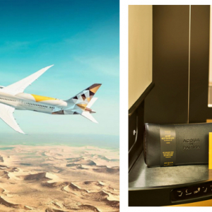 Etihad Airways partners with Acqua Di Parma on new amenities