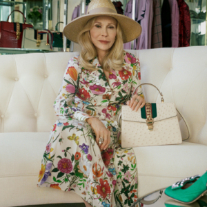 Gucci celebrates style at any age as Faye Dunaway fronts its new handbag campaign