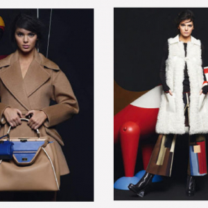 First look: Kendall Jenner stars in Fendi's new campaign for AW15