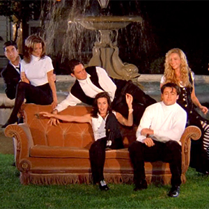 Want to own the 'Friends' Central Perk couch?